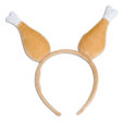 Thanksgiving Turkey Leg Drumstick Headband