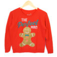 The Perfect (Gingerbread) Man Ugly Christmas Sweatshirt