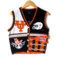 University of Texas Hook 'Em Horns Tacky Ugly Sweater Vest