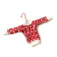 2016 Fair Isle Ugly Christmas Sweater Ornament
