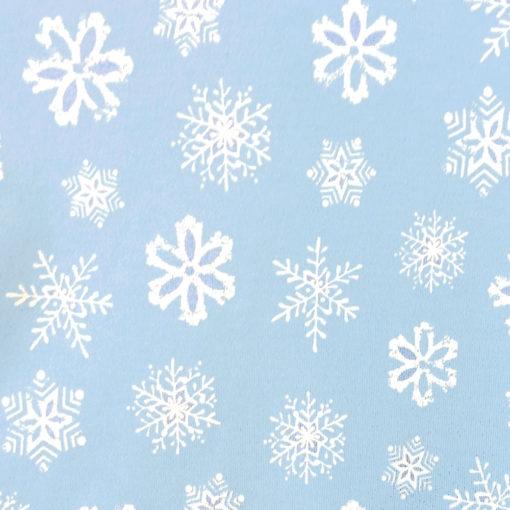 Falling Snowflakes Tacky Ugly Christmas Turtleneck