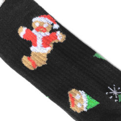 Oh Snap Gingerbread Man Ugly Christmas Socks