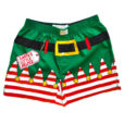 Santa's Little Helper Elf Ugly Christmas Boxer Shorts