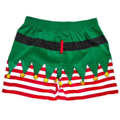 Santa's Little Helper Elf Ugly Christmas Boxer Shorts