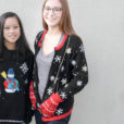 Sparkle Snowflakes and Mitten Pockets Ugly Christmas Sweater