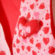 DIY Handmade XOXO Hearts Valentines Day Fabric Ugly Vest 3