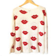 "Torrid ""Hot Lips"" Lightweight Semi-Sheer Valentines Day Ugly Sweater 2"